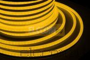 Гибкий неон светодиодный 360, постоянное свечение, ЖЕЛТЫЙ, 220В, бухта 50м NEON-NIGHT