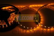 LED лента открытая, ширина 10 мм, IP23, SMD 5050, 60 диодов/метр, 12V, цвет светодиодов желтый