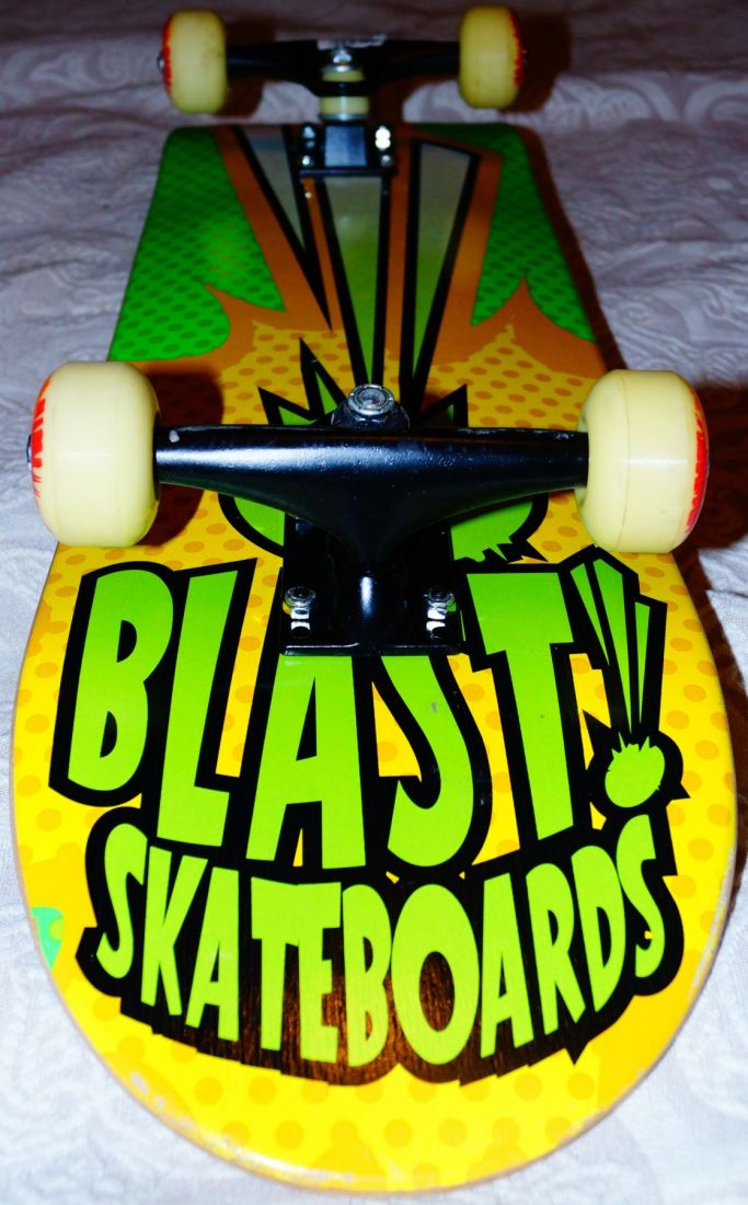 BLAST POP GREEN COMPLETE 8.8 скейтборд