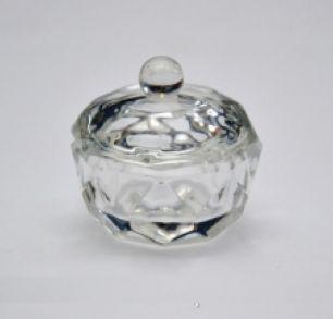 Емкость для мономера стеклянная с крышкой 40ml