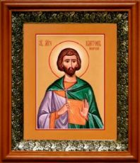 Платон Анкирский (19х22), светлый киот