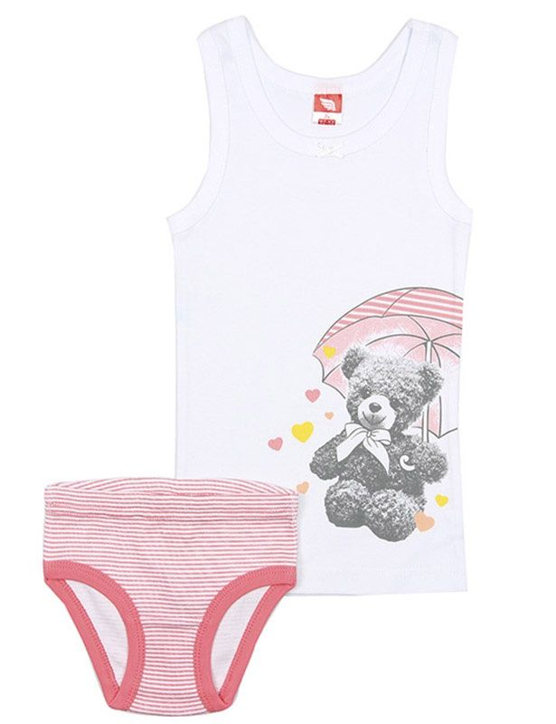 Комплект белья для девочки Миша