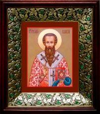 Василий Великий (21х24), киот со стразами