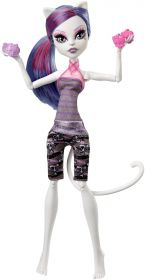 Кукла Кэтрин ДеМяу (Catrine DeMew), серия Фантастический фитнесс, MONSTER HIGH