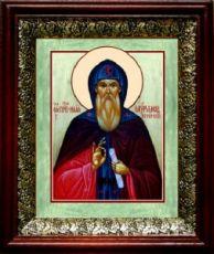 Илия Муромец (19х22), темный киот