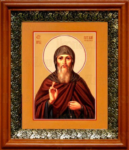 Виталий Александрийский (19х22), светлый киот