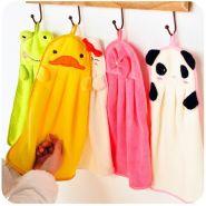 Мягкие и нежные детские полотенца