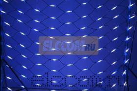 Гирлянда - сеть Чейзинг LED 2*3м (432 диода), КАУЧУК, БЕЛЫЕ и СИНИЕ диоды
