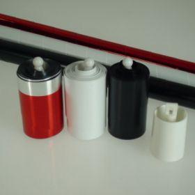 Тройное изменение цвета трости (белая - красная - черная)
