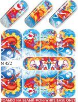 Слайдер-дизайн  N422  (водные наклейки)