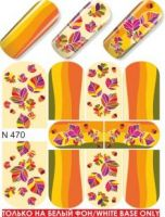 Слайдер-дизайн  N470 (водные наклейки)