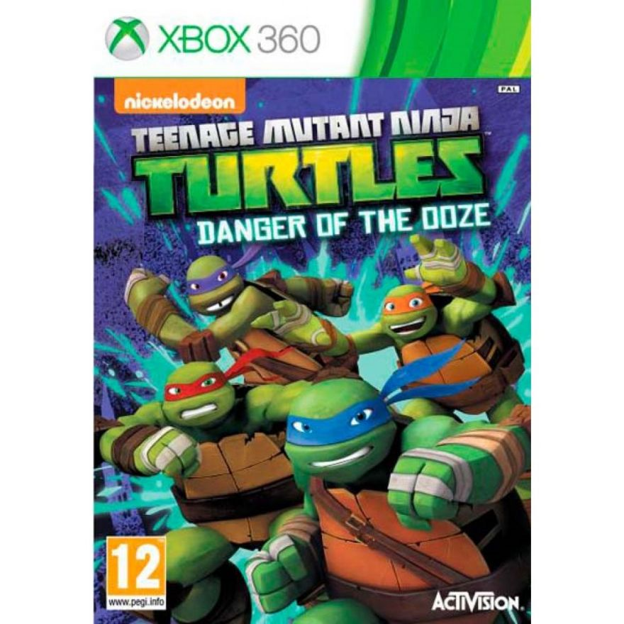 Игра Teenage Mutant Ninja:Danger of the doze (XBOX 360)