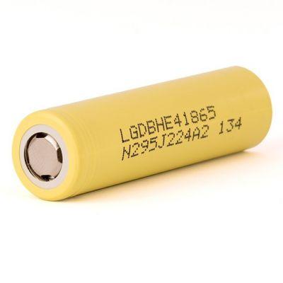 Аккумулятор LG HE4 18650 2500мАч 35A, без защиты