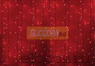 """Гирлянда """"Светодиодный Дождь"""" 2х3м, постоянное свечение, белый провод, 220В, диоды КРАСНЫЕ, NEON-NIGHT"""