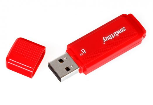 USB накопитель Smartbuy 16GB Dock Red
