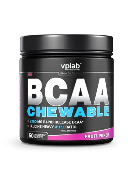 BCAA Chewable (60 таб.)
