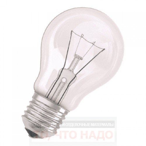 Лампа OSRAM A 75W E27CL 4008321585387