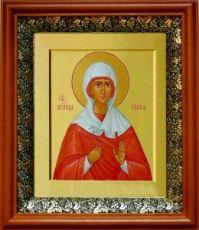 Раиса Александрийская (19х22), светлый киот