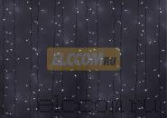 """Гирлянда """"Светодиодный Дождь"""" 2х3м, эффект мерцания, белый провод, 220В, диоды БЕЛЫЕ, NEON-NIGHT"""