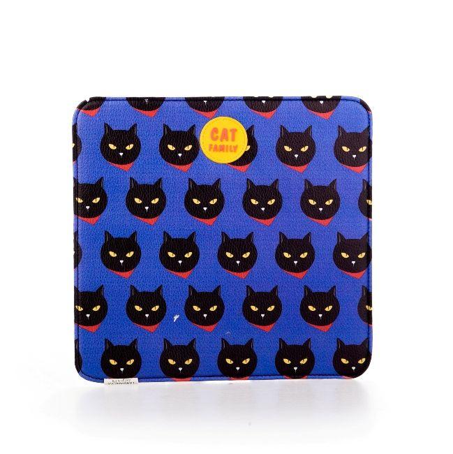 "Коврик для мышки ""Cat Family"" - Deep Blue"