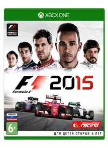 Игра Formula 1 2015 (XBOX ONE)
