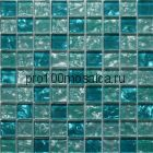 Lazurit. Мозаика серия GLASS, размер, мм: 290*290*6 (ORRO Mosaic)