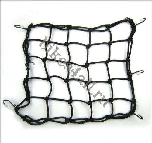 Сетка багажная черная 30х30 см