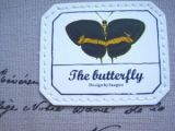 Коврик для мышки с бабочкой
