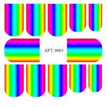 Слайдер-дизайн для ногтей № 0003