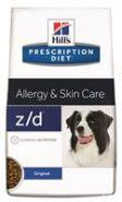 Hill's PD Canine z/d Allergy & Skin Care Диетический корм при аллергии (10 кг)