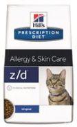 Hill's PD Feline z/d Allergy & Skin Care Диетический корм при острой пищевой аллергии (2 кг)