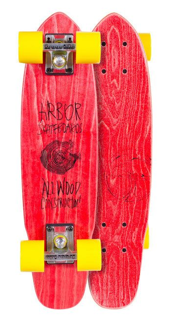 ARBOR 15 WOODEY RED 24'' ЛОНГБОРД