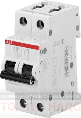 Автоматический Выключатель 25А 2Р ABB S202 хар.С 6kA 2CDS252001R0254