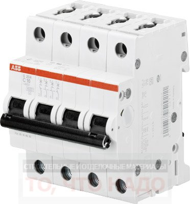 Автоматический Выключатель 20А 4Р ABB S204