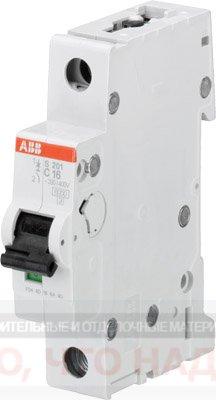 Автоматический Выключатель 50А 1Р ABB S201