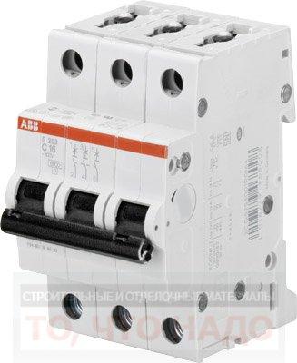 Автоматический Выключатель 50А 3Р ABB S203