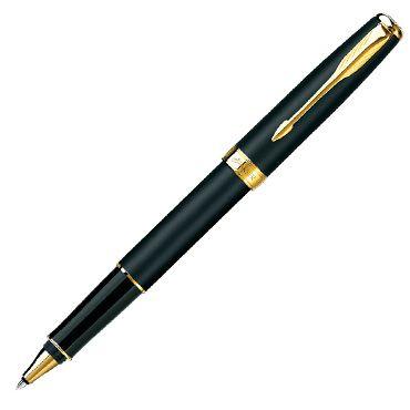 Ручка-роллер Parker Sonnet Matte Black GT S0817970