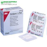 ЗM  Медипор плюс Пад ( Medipore™ + Pad ) Стерильная повязка с впитывающей прокладкой
