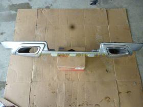 Аэродинамическая накладка на задний бампер губа (Тип 6) для Toyota Land Cruiser 200