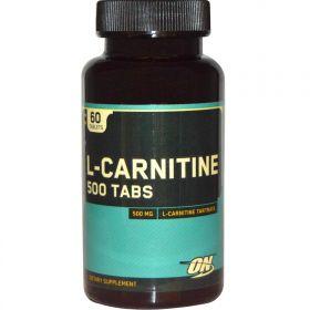Optimum Nutrition L-Carnitine 500 mg (60 капс.)