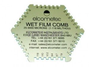 Elcometer 112Al - Гексагональная гребенка
