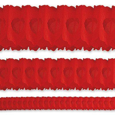 Гирлянда Декор 36м красная
