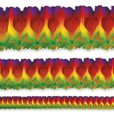 Гирлянда Декор 36м многоцветная