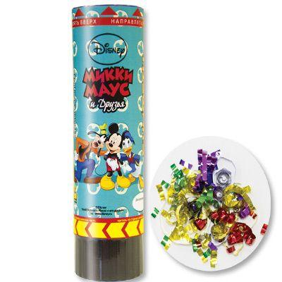 Хлопушка Disney Микки-Маус 16см пружинная