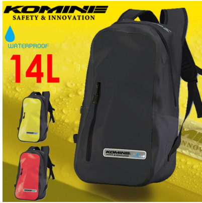 Мото рюкзак KOMINE SA223 водонепроницаемый (цвета в ассортименте)