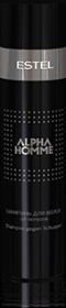 Шампунь для волос против перхоти ESTEL ALPHA HOMME, 250 мл