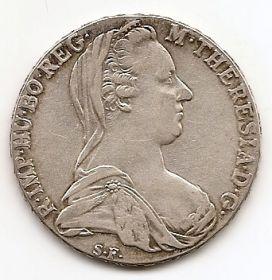 Мария-Тереза 1 талер Австрия 1853