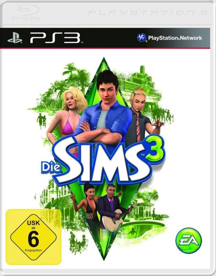 Игра The Sims 3 (PS3)