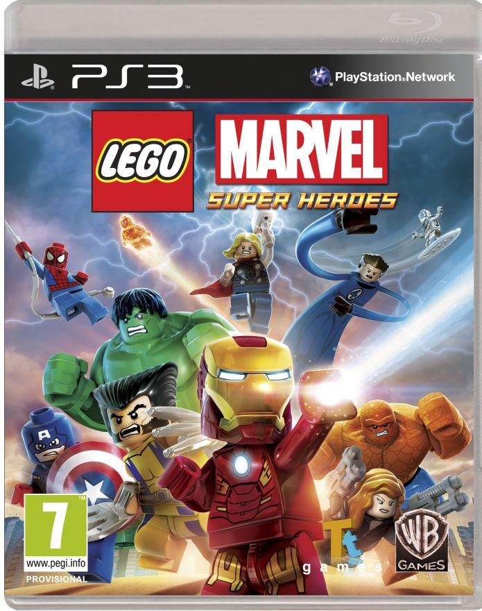 Игра Lego Marvel Super Heroes (PS3)