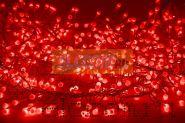 """Гирлянда """"Мишура LED"""" 3 м 288 диодов, цвет красный"""